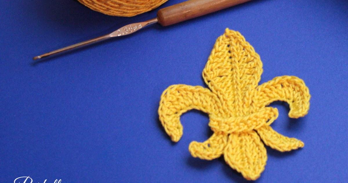 Fleur-de-lys Motif Crochet Pattern