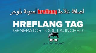 hreflang ,اضافة علامة hreflang لمدونة بلوجر,طريقة اضافة الاستهداف الدولي للغة والبلد للمواقع ,
