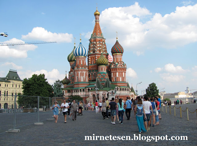 Храм Василия Блаженного: что внутри?