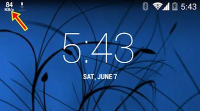 Cara Menampilkan Info Kecepatan Internet di Status Bar Android