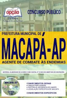 Apostila Agente de Combate às Endemias - Prefeitura de Macapá 2018