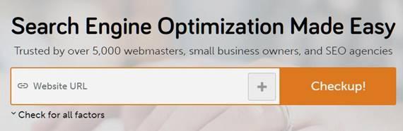 website seo score checker tool