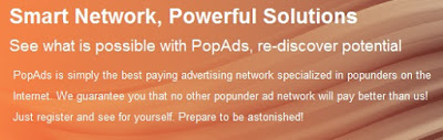 PopAds, alternatif Google Adsense