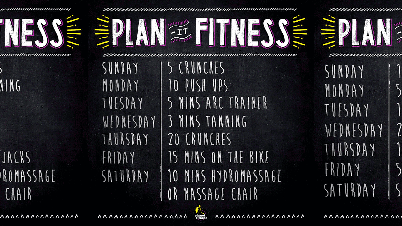 planet fitness workout routine fit choices