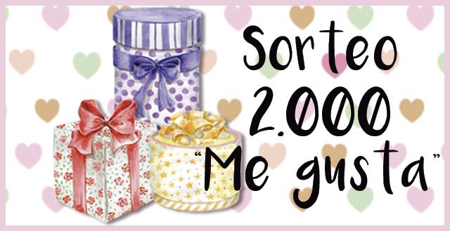 Sorteo 2000 Me gusta en Facebook