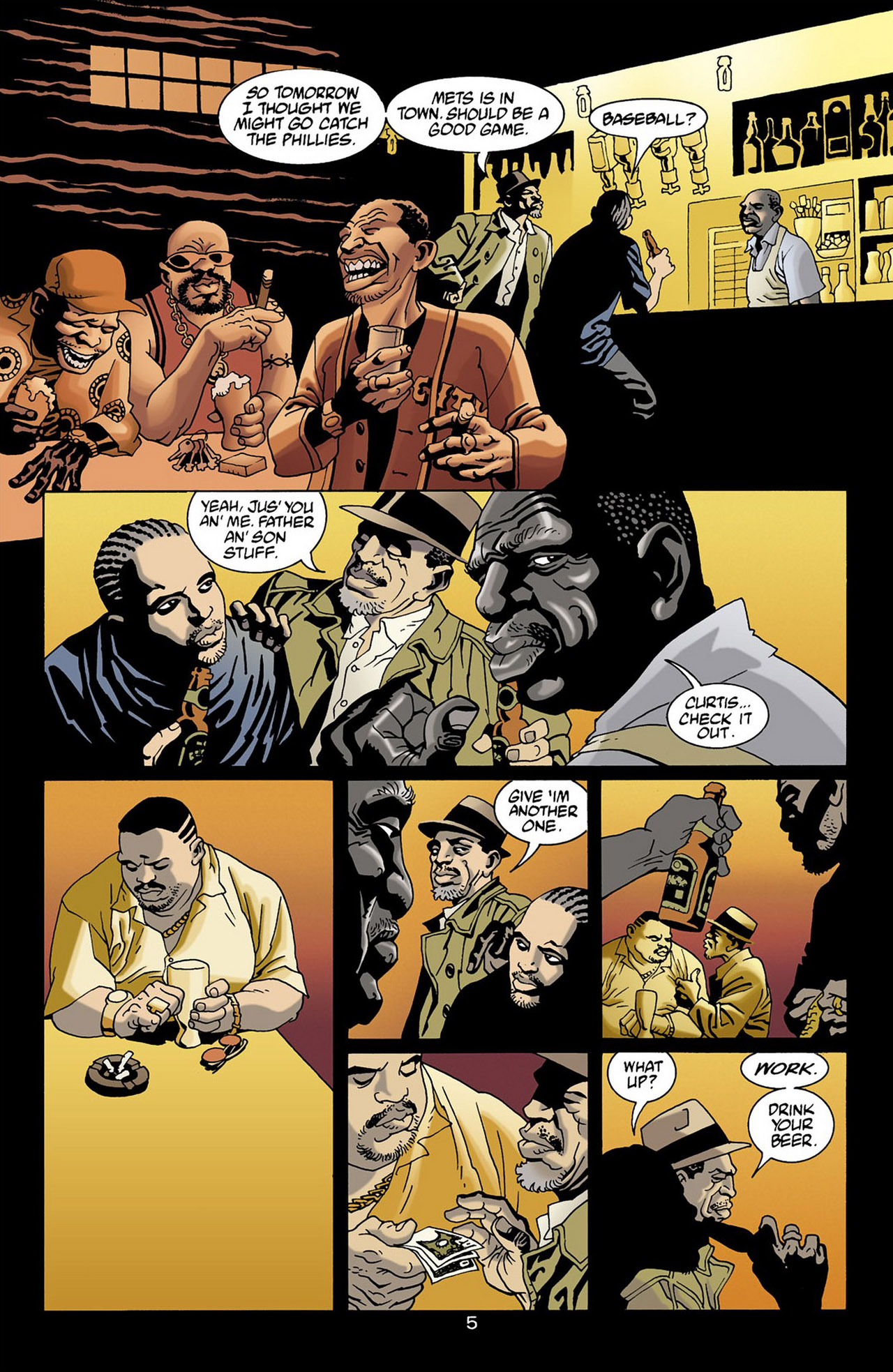100 Bullets 16 Page 5