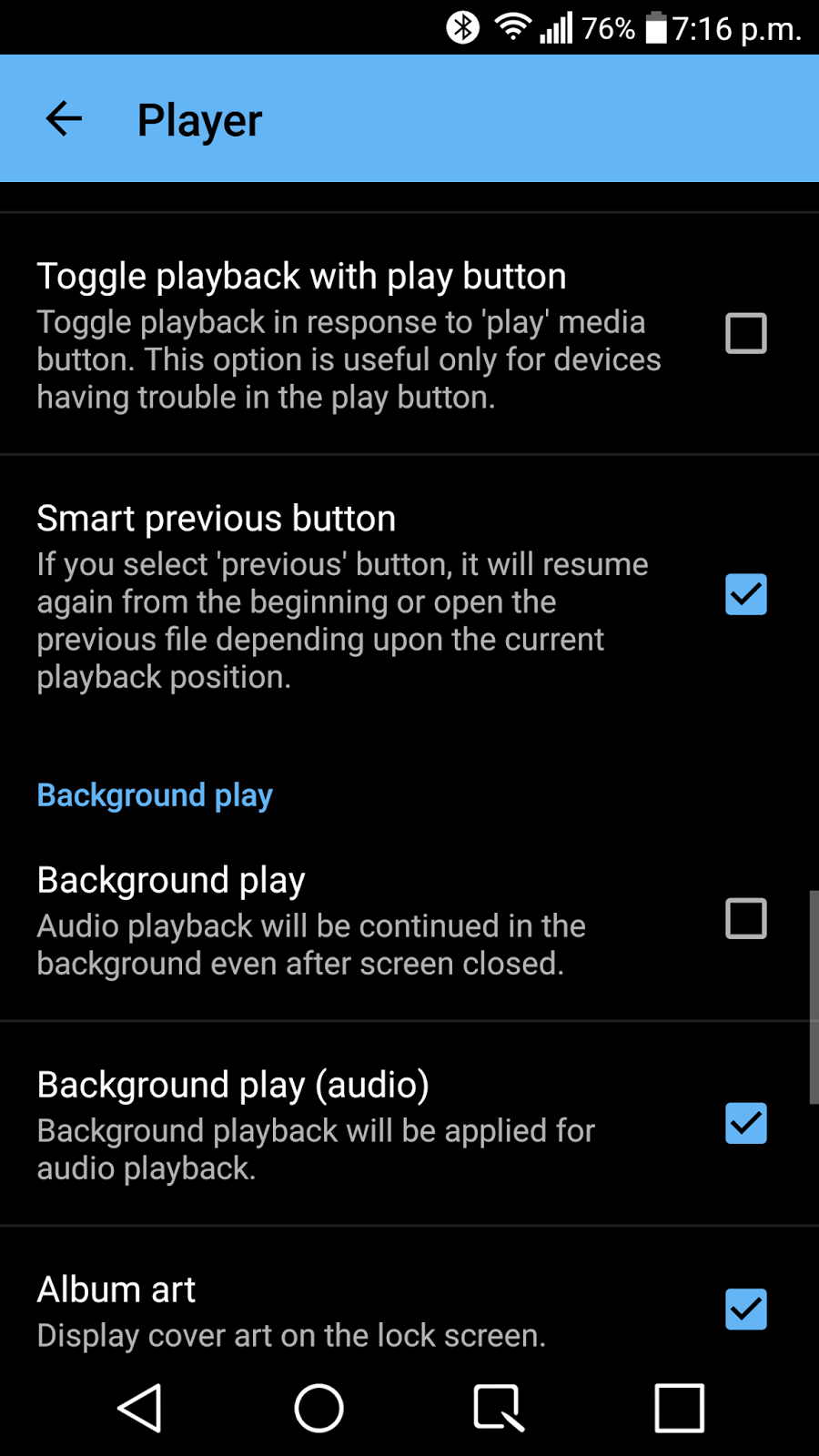 Android apps that play only audio from video files | ValueStuffz