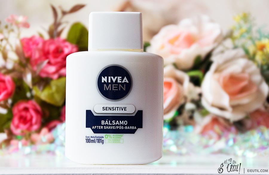 Bálsamo Pós-Barba Sensitive (como Primer) - Nivea