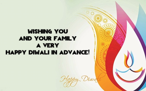 happy deepavali wallpaper, vector, wishes in english for friends and family