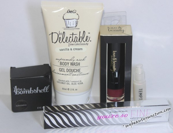 Ipsy November 2014 beauty bag review