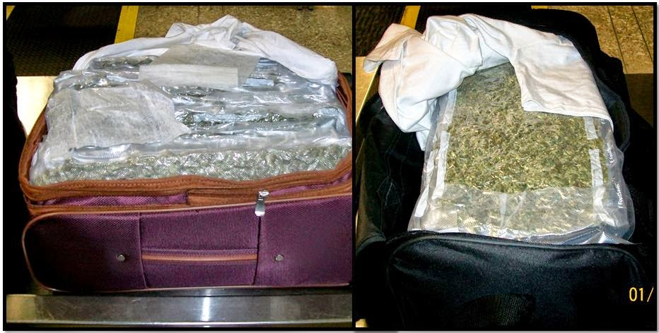 Marijuana in carry-on bags at OAK