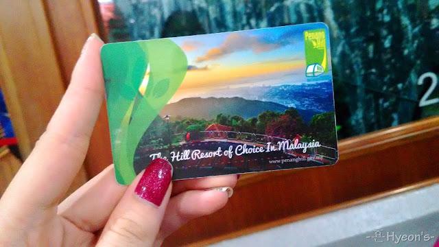 penang hill tram ticket