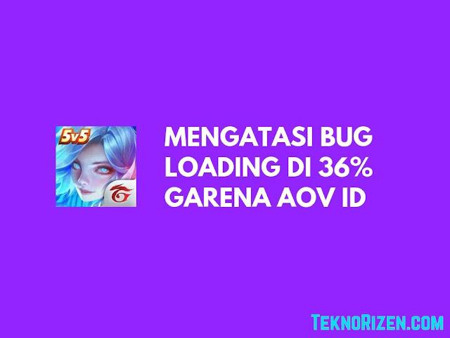 Cara Fix Bug Loading 36% Garena AoV Dengan Mudah