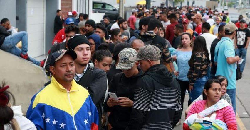 Poder Judicial admite a trámite demanda para ingreso libre de venezolanos