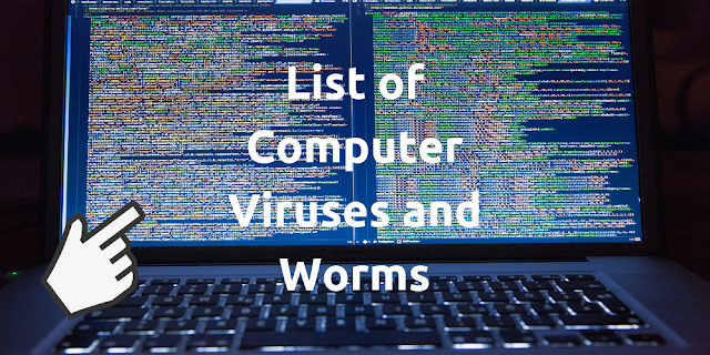 List of Computer Virus