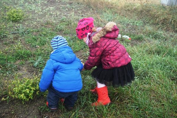 spacer we mgle, z dziećmi, w chorobie