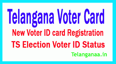 TS Telangana New Voter ID card Registration Free Web Site Online Apply