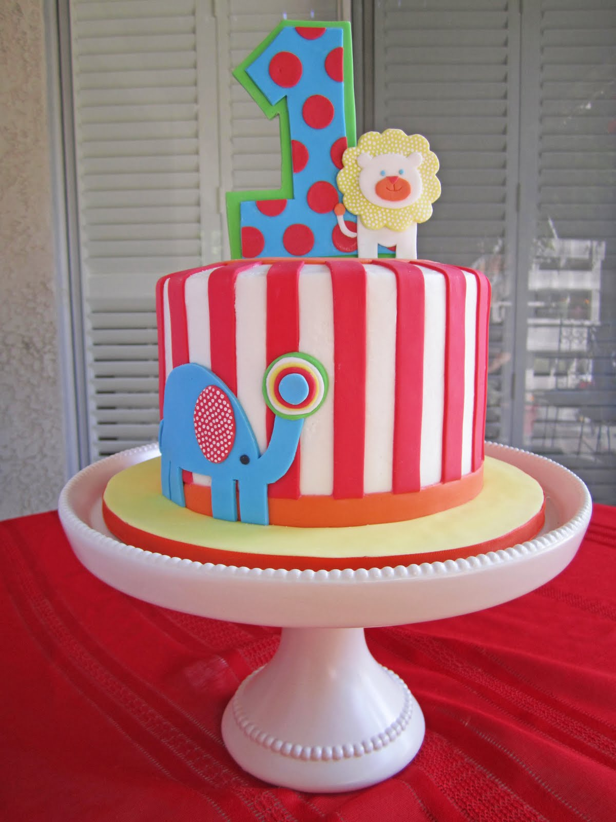 Cakes By Sarah: Baby Carnival Cake