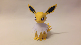 pokemon paper craft