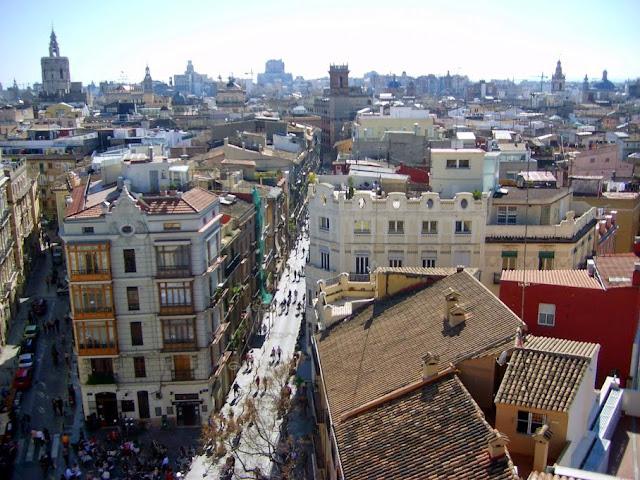 Desde las Torres de Serranos, 2013