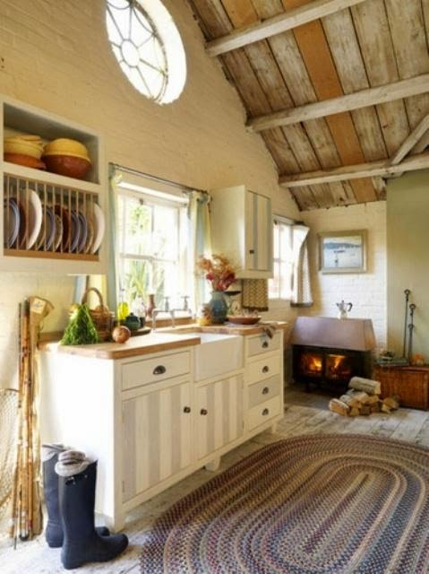 Cozy Cottage Kitchen Decoration