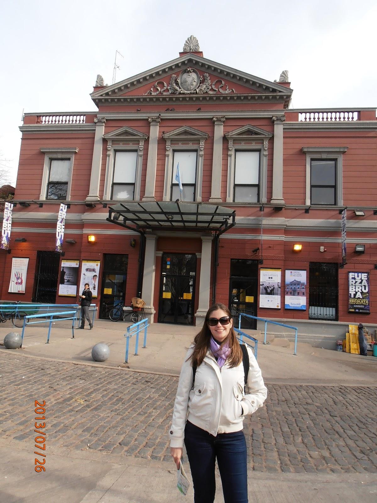 Centro  Cultural da Recoleta