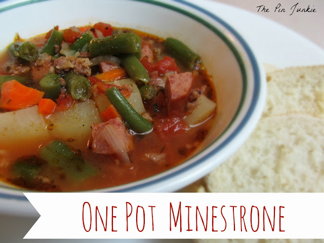 One Pot Minestrone Soup