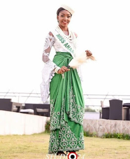 Miss Anambra Emerged As Winner Of Miss Nigeria 2016 Competition.