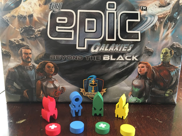 Tiny Epic Galaxies Beyond the Black Expansion by Gamelyn Games (Photo by Benjamin Kocher)