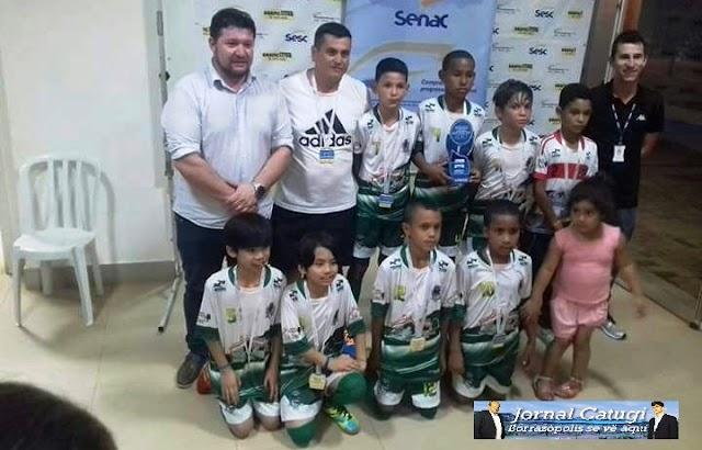 Equipes de Borrazópolis se preparam para disputar a Copa Sesc de Ivaiporã