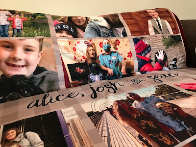affordable personalised photo blanket