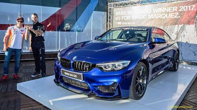 5 mobil BMW Marc Marquez hadiah MotoGP