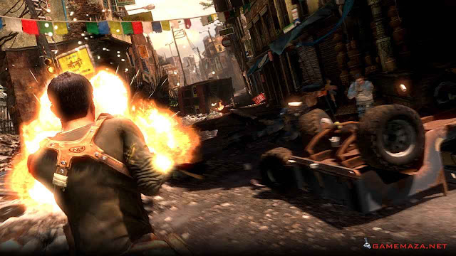 Uncharted 2 Among Thieves Gameplay Screenshot 2