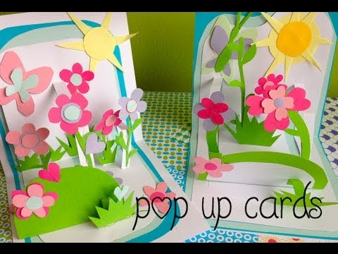 Pop Up Flower Garden Mother's Day Card & Crafts