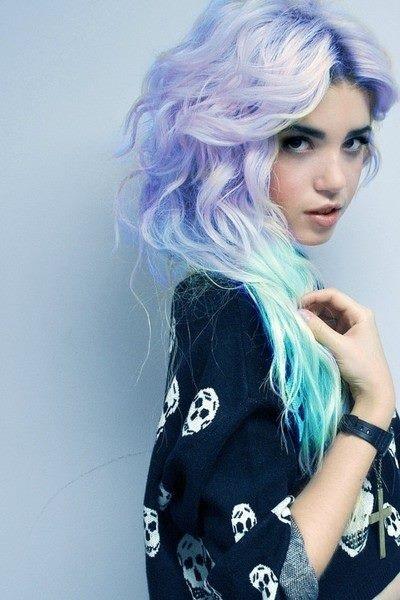Blaue Haare 2016 Schwarz Blaue Emo Haare