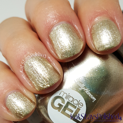 Sally Hansen Miracle Gel Winter 2015 - Game of Chromes | Kat Stays Polished