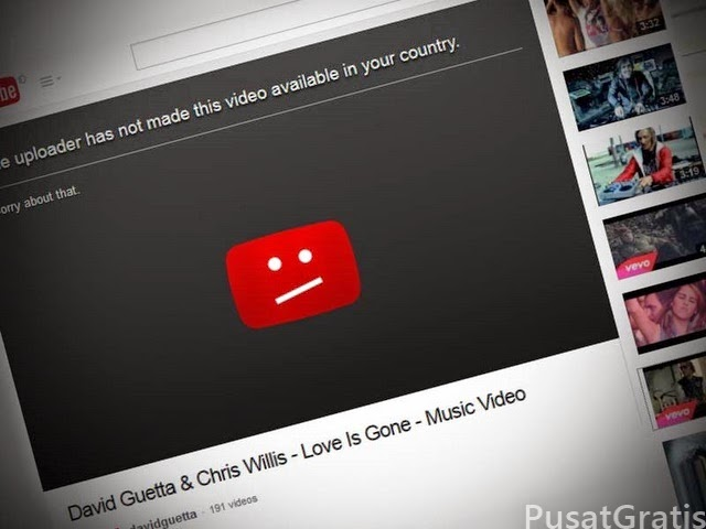 bypass restrictions in youtube