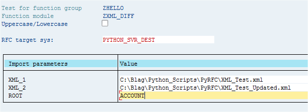 Blag's bag of rants: Calling Python from ERP (With PyRFC)