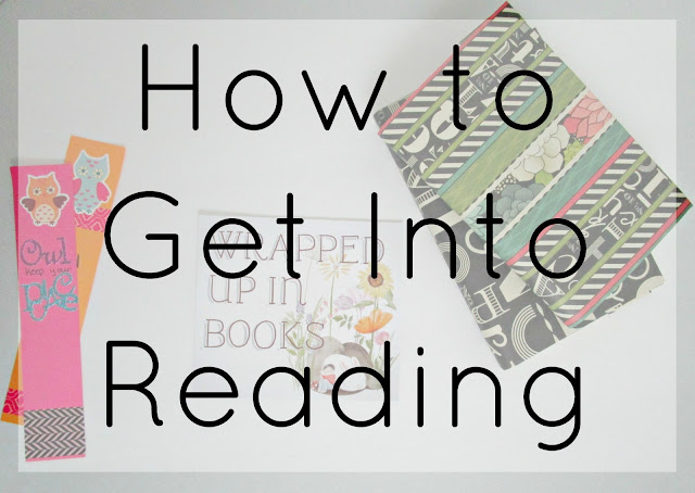 How to Get Into Reading from Courtney's Little Things