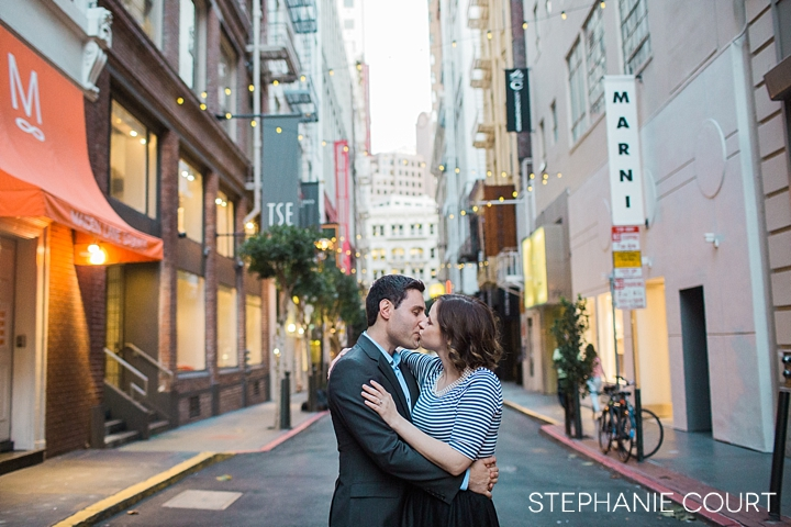 maiden lane engagement photos