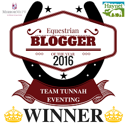 Equestrian Blog of the Year 2016 - Haynet Blog Award