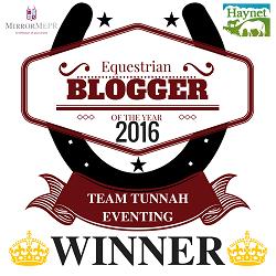 Equestrian Blog of the Year 2016 - Haynet Blog Award