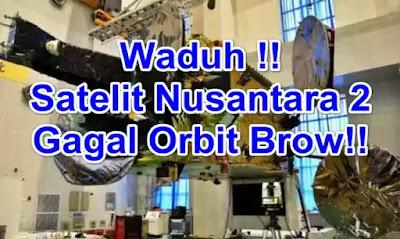 Satelit Nusantara 2 pengganti satelit palapa d hancur