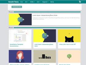 Seven Theme - Responsive Blogger Template