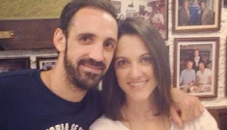Juanfran and his wife Veronica