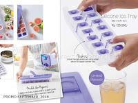 Silicone Ice Tray Promo Tupperware September 2016