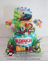 Kue Tart Ulang Tahun Kereta Thomas and Friends
