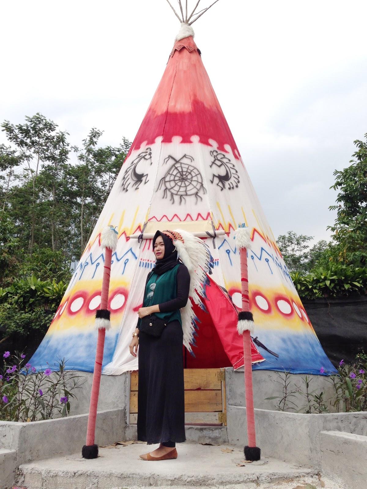 Wisata Indian Village di Kediri