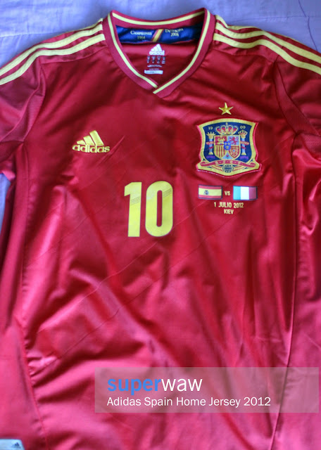 Jersey Spain Home 2012