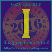 I is for: I-Spy - A Wandering Vine #AtoZChallenge